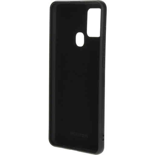 Mobiparts Silicone Cover Samsung Galaxy A21s (2020) Black