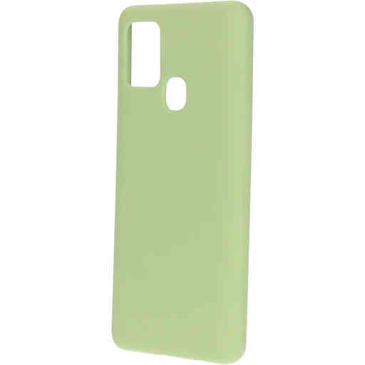 Mobiparts Silicone Cover Samsung Galaxy A21s (2020) Pistache Green