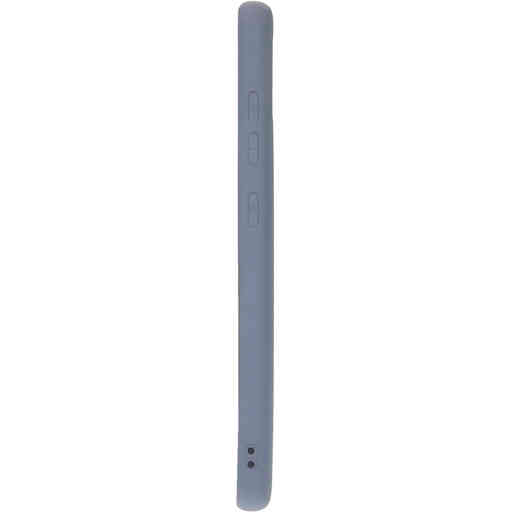 Mobiparts Silicone Cover Samsung Galaxy A21s (2020) Royal Grey