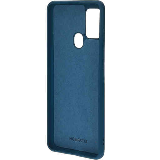 Mobiparts Silicone Cover Samsung Galaxy A21s (2020) Blueberry Blue