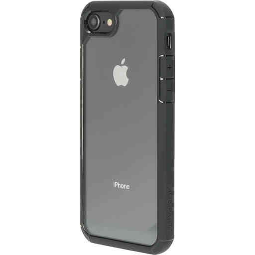 Mobiparts Rugged Clear Case Apple iPhone 7/8/SE (2020) Black