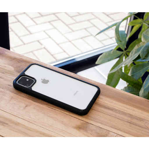 Mobiparts Rugged Clear Case Apple iPhone 12 Mini Black