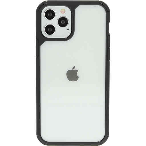 Mobiparts Rugged Clear Case Apple iPhone 12/12 Pro Black