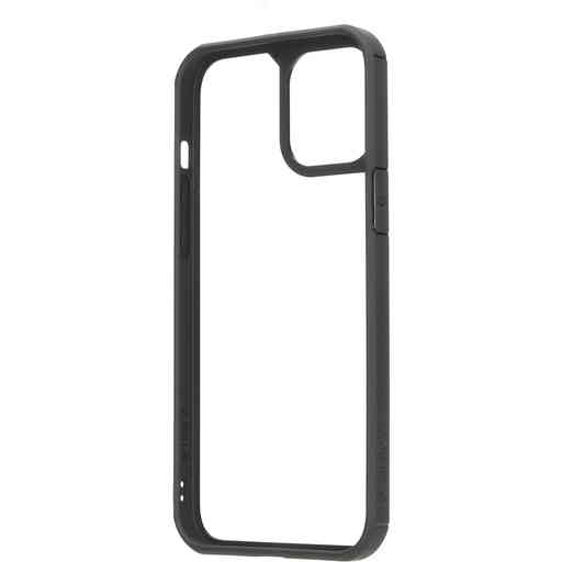 Mobiparts Rugged Clear Case Apple iPhone 12 Pro Max Black