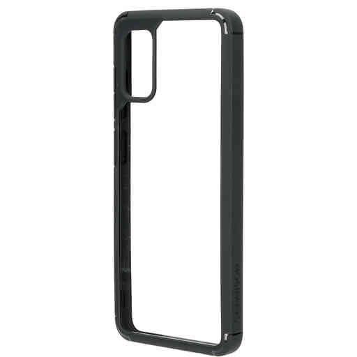 Mobiparts Rugged Clear Case Samsung Galaxy A41 (2020) Black
