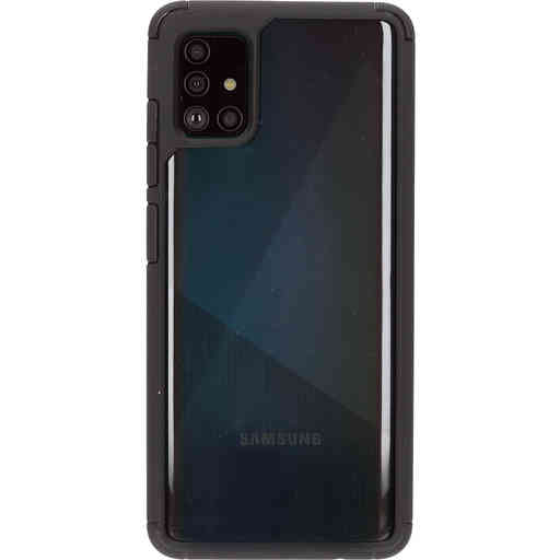 Mobiparts Rugged Clear Case Samsung Galaxy A51 (2020) Black
