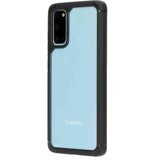 Mobiparts Rugged Clear Case Samsung Galaxy S20 4G/5G Black