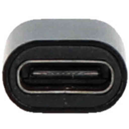 Mobiparts USB-C Female to Micro-USB Adapter Black (Bulk)