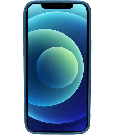 Mobiparts Silicone Cover Apple iPhone 12 Mini Blueberry Blue