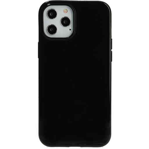 Mobiparts Classic TPU Case Apple iPhone 12 Pro Max Black