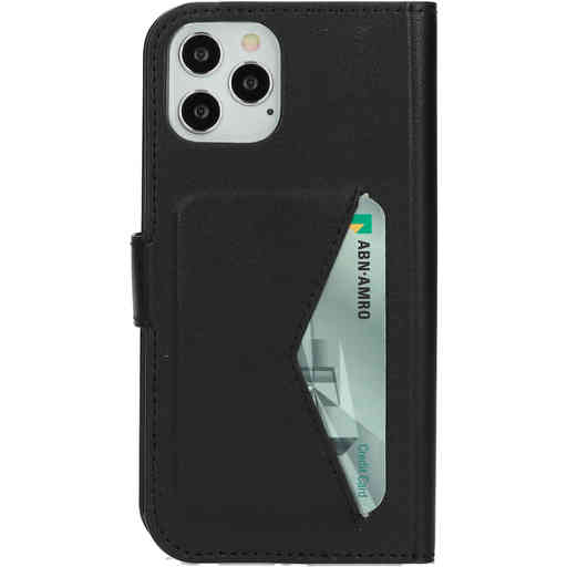 Mobiparts Classic Wallet Case Apple iPhone 12/12 Pro Black