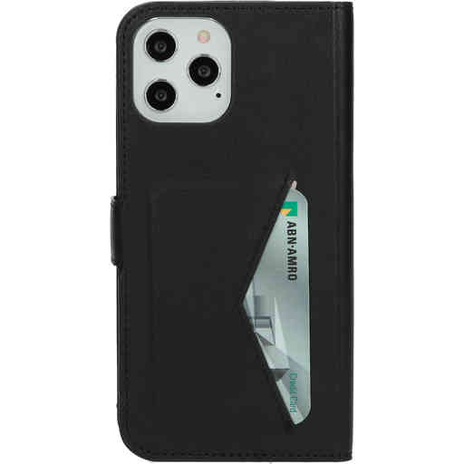 Mobiparts Classic Wallet Case Apple iPhone 12 Pro Max Black