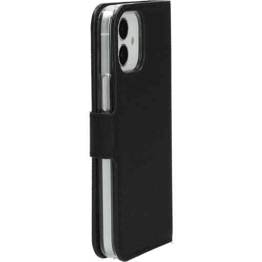 Mobiparts Saffiano Wallet Case Apple iPhone 12 Mini Black