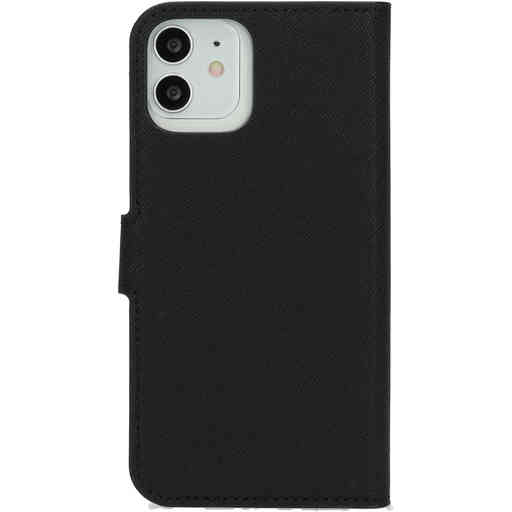 Mobiparts Saffiano Wallet Case Apple iPhone 12/12 Pro Black