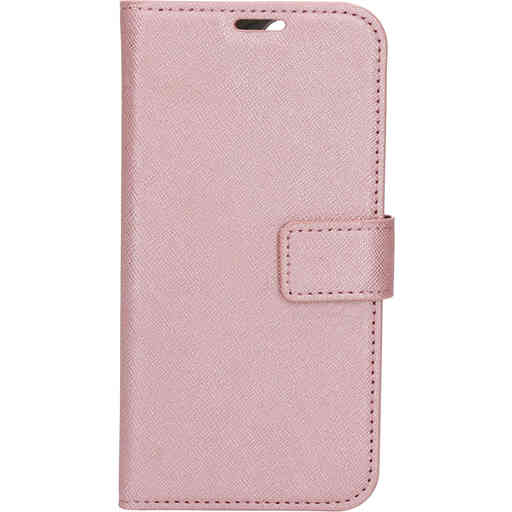 Mobiparts Saffiano Wallet Case Apple iPhone 12/12 Pro Pink