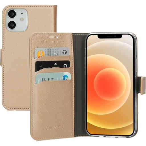 Mobiparts Saffiano Wallet Case Apple iPhone 12/12 Pro Copper