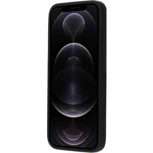 Mobiparts Silicone Cover Apple iPhone 12/12 Pro Black