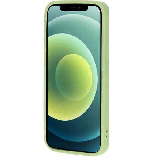 Mobiparts Silicone Cover Apple iPhone 12 Mini Pistache Green