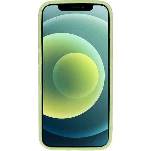 Mobiparts Silicone Cover Apple iPhone 12/12 Pro  Pistache Green