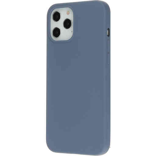 Mobiparts Silicone Cover Apple iPhone 12 Pro Max Royal Grey