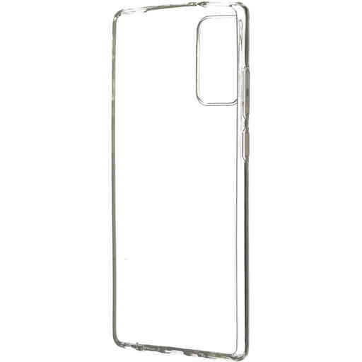 Mobiparts Classic TPU Case Samsung Galaxy Note 20 Transparent