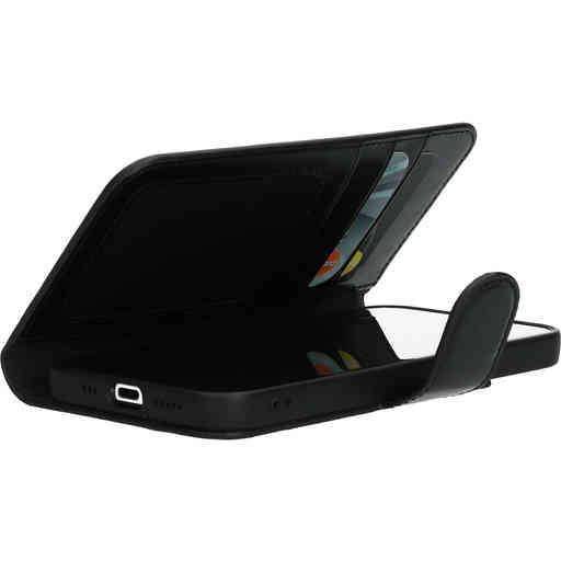 Mobiparts Excellent Wallet Case 2.0 Apple iPhone 12/12 Pro Jade Black