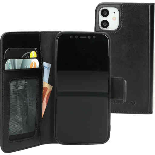Mobiparts Excellent Wallet Case 2.0 Apple iPhone 12 Mini Jade Black