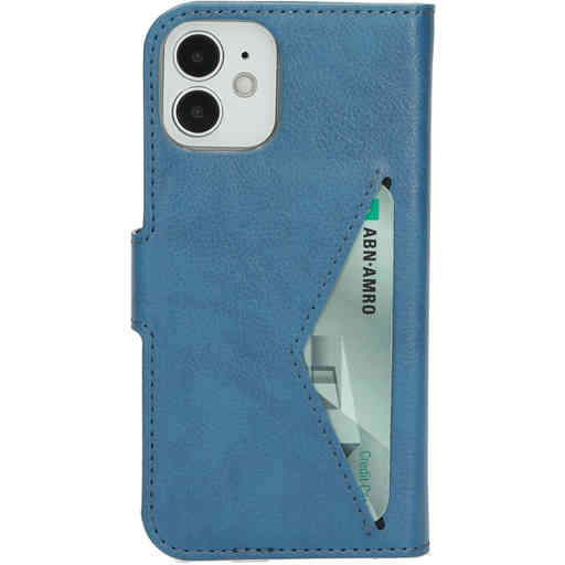 Mobiparts Classic Wallet Case Apple iPhone 12 Mini Steel Blue