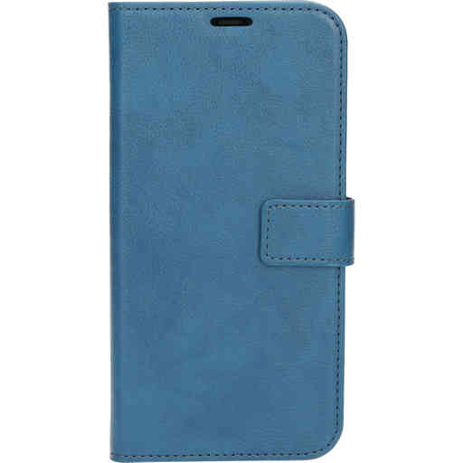 Mobiparts Classic Wallet Case Apple iPhone 12 Pro Max Steel Blue