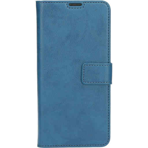 Mobiparts Classic Wallet Case Samsung Galaxy A21s (2020) Steel Blue