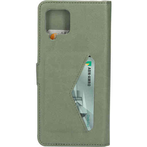 Mobiparts Classic Wallet Case Samsung Galaxy A42 (2020) Stone Green