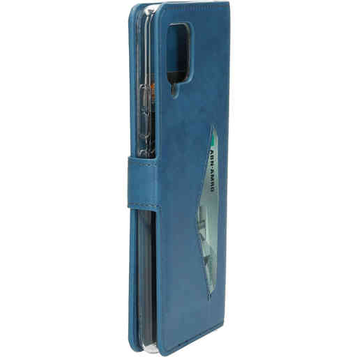 Mobiparts Classic Wallet Case Samsung Galaxy A42 (2020) Steel Blue