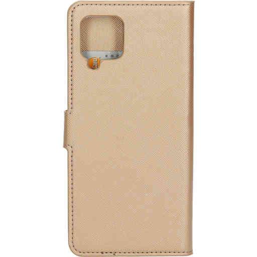 Mobiparts Saffiano Wallet Case Samsung Galaxy A42 (2020) Copper