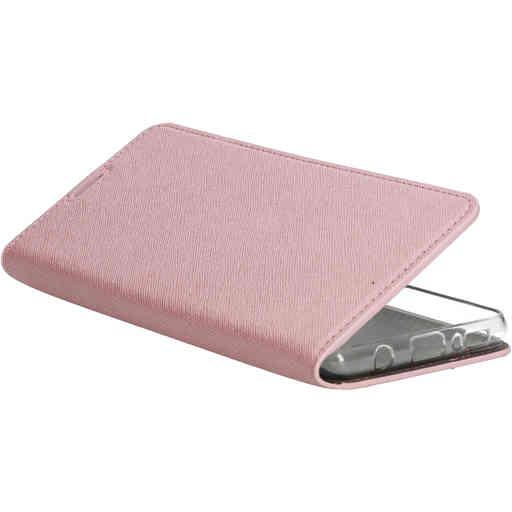 Mobiparts Saffiano Wallet Case Samsung Galaxy A42 (2020) Pink