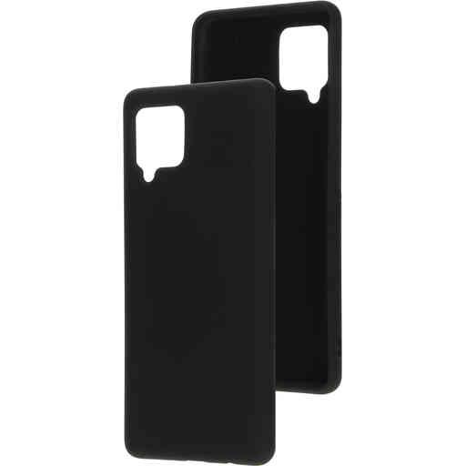 Mobiparts Silicone Cover Samsung Galaxy A42 (2020) Black