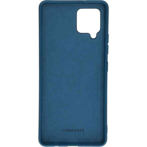 Mobiparts Silicone Cover Samsung Galaxy A42 (2020) Blueberry Blue