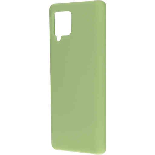 Mobiparts Silicone Cover Samsung Galaxy A42 (2020) Pistache Green
