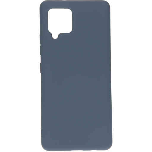 Mobiparts Silicone Cover Samsung Galaxy A42 (2020) Royal Grey
