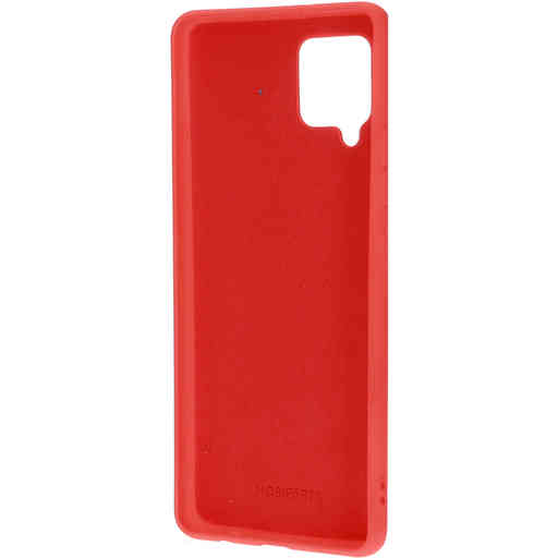 Mobiparts Silicone Cover Samsung Galaxy A42 (2020) Scarlet Red