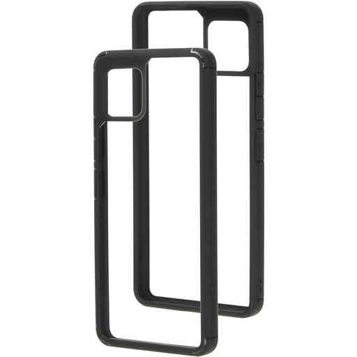Mobiparts Rugged Clear Case Samsung Galaxy A42 (2020) Black