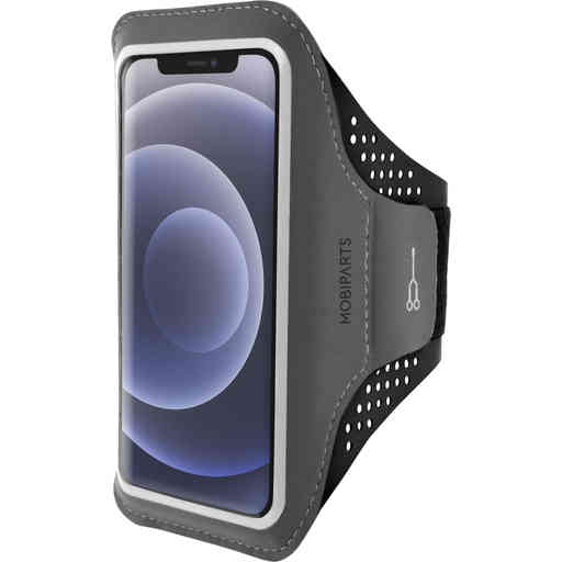 Mobiparts Comfort Fit Sport Armband Apple iPhone 12 Mini Black