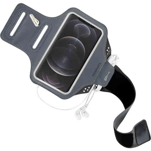 Mobiparts Comfort Fit Sport Armband Apple iPhone 12 Pro Max Black