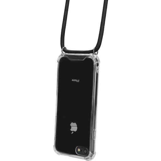Mobiparts Lanyard Case Apple iPhone 7/8/SE (2020) Black Cord