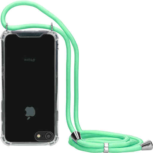 Mobiparts Lanyard Case Apple iPhone 7/8/SE (2020) Green Cord