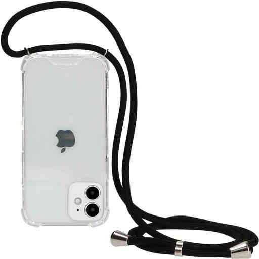 Mobiparts Lanyard Case Apple iPhone 12 Mini Black Cord