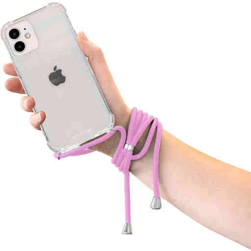 Mobiparts Lanyard Case Apple iPhone 12 Mini Violet Cord
