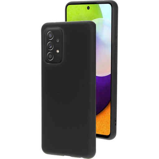 Mobiparts Silicone Cover Samsung Galaxy A52 (2021) Black