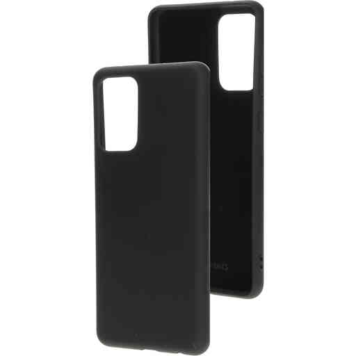 Mobiparts Silicone Cover Samsung Galaxy A72 (2021) 4G/5G Black