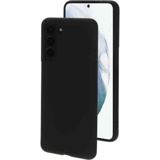 Mobiparts Silicone Cover Samsung Galaxy S21 Black