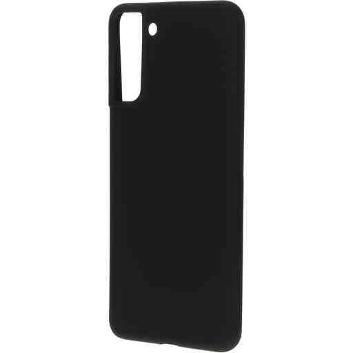Mobiparts Silicone Cover Samsung Galaxy S21 Plus Black
